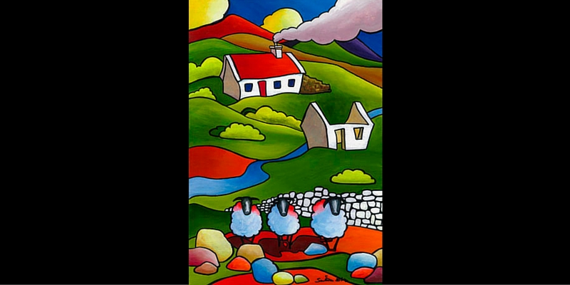 Ewe Ewe and Ewe by Saileen D Art