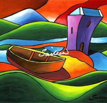 grainne's castle fine art by saileen drumm