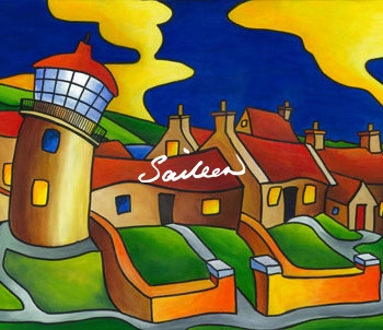 Clare Island Lighthouse Saileen D