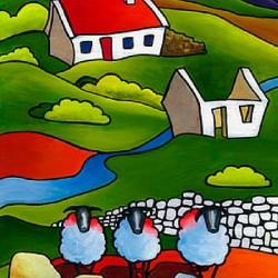 ewe ewe & ewe painting by saileen drumm