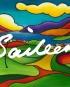 Four Shore golf art saileen drumm