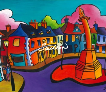 Octagon westport ireland by saileen drumm artist