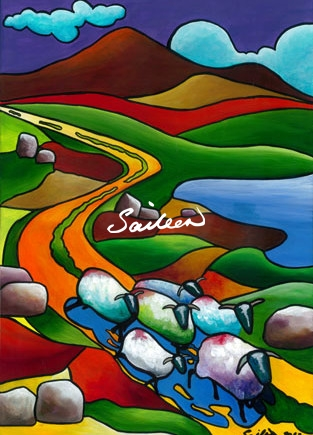 Formula Wool sheep painting saileen d